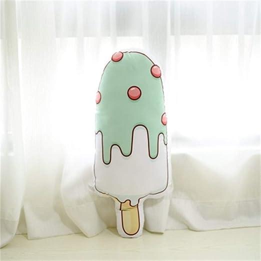 Kawaii forma del helado de la ventana almohada suave felpa ...