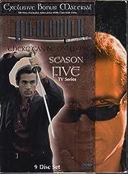 Highlander Season 5 9 Disc Set