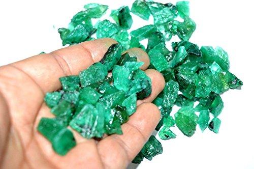 2270 Ct or 1 lbs Earth Mined Rare Green Emerald Zambian R...