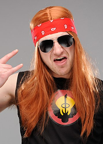 Amazon com: Mens Axl Rose Style Accessory Kit with Wig: Beauty
