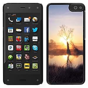 LECELL--Funda protectora / Cubierta / Piel For Amazon Fire Phone -- Sunset Beautiful Nature 59 --