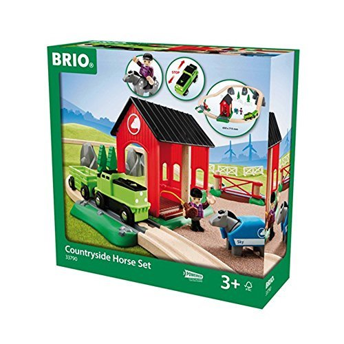 BRIO Countryside Horse Set by Brio