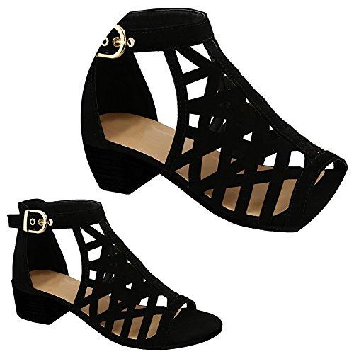 Women Heel Black Block TravelNut to Strappy Juliette Gladiator Sundress Colors Sale School for Assorted Sandals Back wqw7pRCF