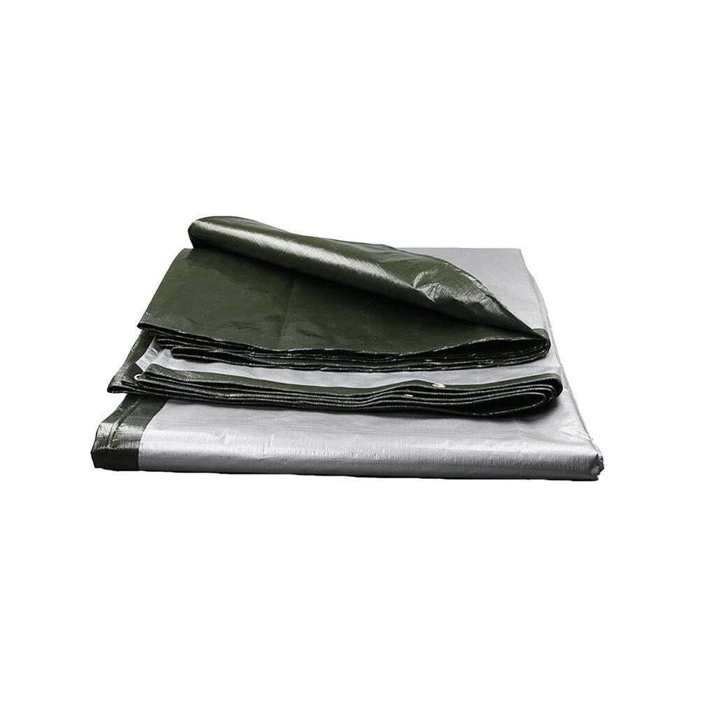 DALL ターポリン ターポリン 防水 厚い PE ターポリン 日焼け止めテント シート 園芸 180G /M² マルチサイズオプション B07GCHQZKM 4*5m  4*5m
