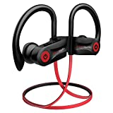 Bluetooth Headphones, Otium Wireless Headphones, Best Sports Earbuds, IPX7 Waterproof Stereo Earphones for Gym Running 9 Hours Playtime Noise Cancelling Headsets