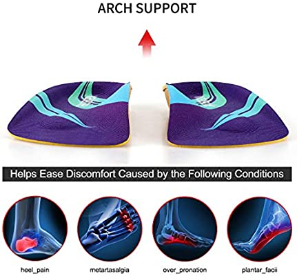Arch Support Shoe Inserts Insoles