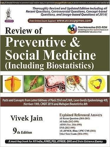 Amazon in: Buy Review of Preventive & Social Medicine (Including