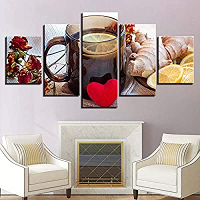 Mondfh 5 Canvas Paintings Canvas Paintings For Kitchen Wall Art 5
