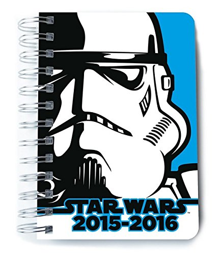 AGENDA ESCOLAR 15/16 114X165 D/P STAR WARS: Amazon.es ...