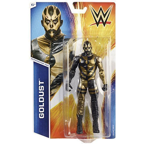 NEW GoldUST BASIC SERIES 50  34 NXT FIGURE WWE WRESTLING MATTEL WWF STARDUST WCW by WWE