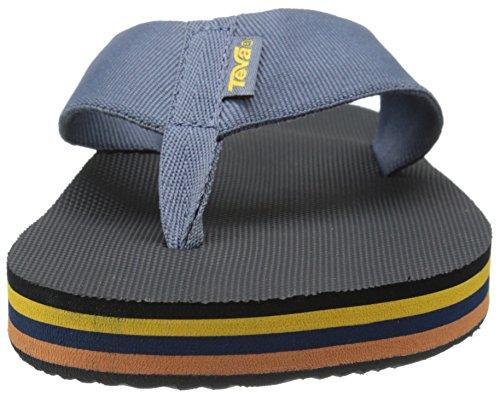 59c4aa1d7 Teva Men s Deckers Flip-Flop Black  Amazon.ca  Shoes   Handbags