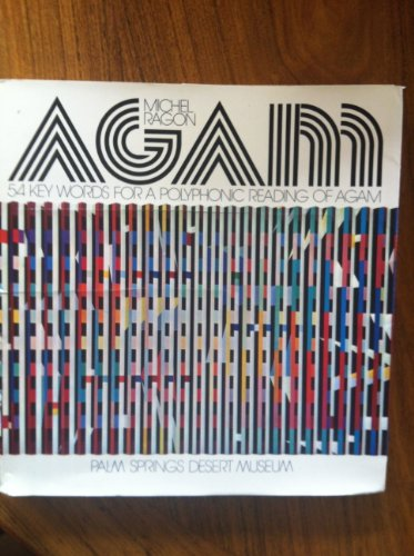 Agam: 54 Key Words for a Polyphonic Reading of Agam for sale  Delivered anywhere in USA