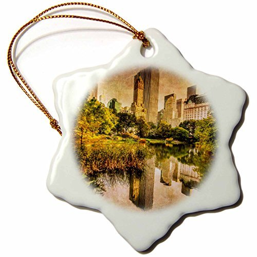 Ornaments to Paint Chris Lord New York - Central Park for sale  Delivered anywhere in USA