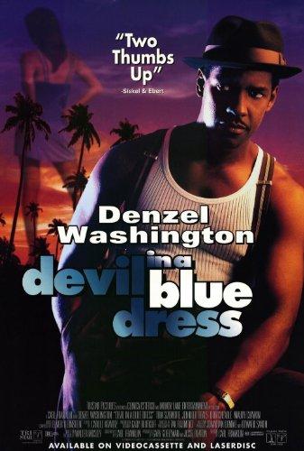 Devil in a Blue Dress Movie Poster (27 x 40 Inches - 69cm x 102cm) (1995) -(Nick(y) Corello)(Denzel Washington)(Jennifer Beals)(Don Cheadle)(Tom Sizemore)(Maury Chaykin)