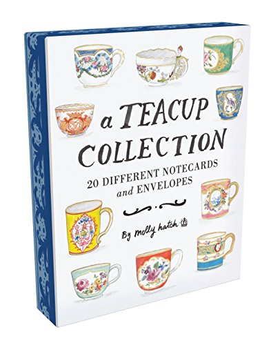 (A Teacup Collection Notes: 20 Different Notecards and Envelopes)