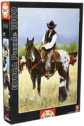 Educa Cowboy 1000-Piece Puzzle (Jack Sorenson Puzzles)
