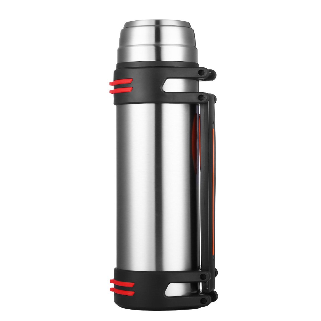 ONEISALL GYBL553 2.2L Stainless Steel Vacuum Flask,Large Insulated Outdoor Kettle,Travel Kettle for Hiking/Camping/Exercising(Stainless Steel-2.2L) Huizhou Weifan Trading Co. Ltd. GYBL553001
