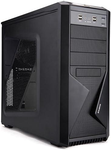 Zalman Z9 Carcasa de Ordenador - Caja de Ordenador (Midi-Tower, PC, 2X 120 mm, De plástico, Acero, 1x 120 mm, ATX ...