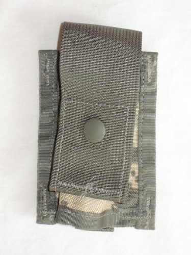 US Military MOLLE II 40MM High Explosive Single Pouch, ACU