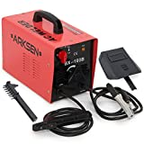 ARC Welder - ARKSEN 160 AMP Electric ARC Welding Machine 1-Phase Rod Stick Electrode Welder Kit - Red