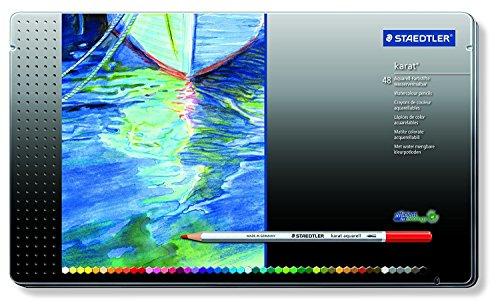 48 color set STAEDTLER Dilshan Aku~ereru watercolor pencil (japan import)