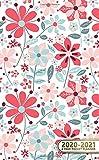 2020-2021 2 Year Pocket Planner: Adorable Floral