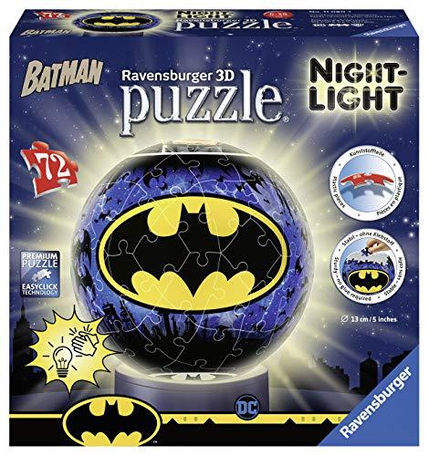 Ravensburger Block - Ravensburger Puzzle 11080 Ravensburger 11080 Nightlight: Batman 3D Puzzle