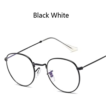 ZHOUYF Gafas de Sol Nueva Lente De Color Redondo Gafas De ...
