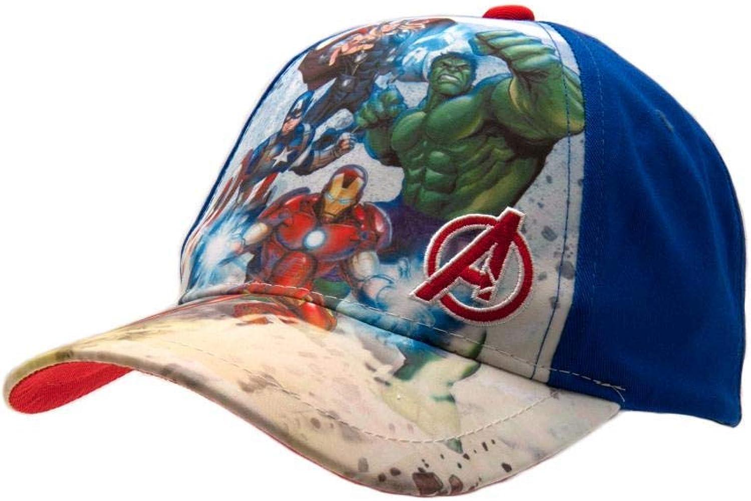 Avengers Vengadores - Gorra Junior (Talla Única): Amazon.es: Ropa ...