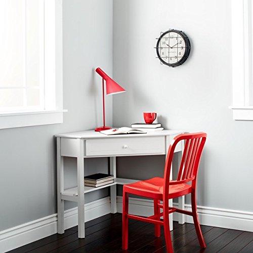 Simple Living Antique White Wood Corner Computer Desk Simple Living