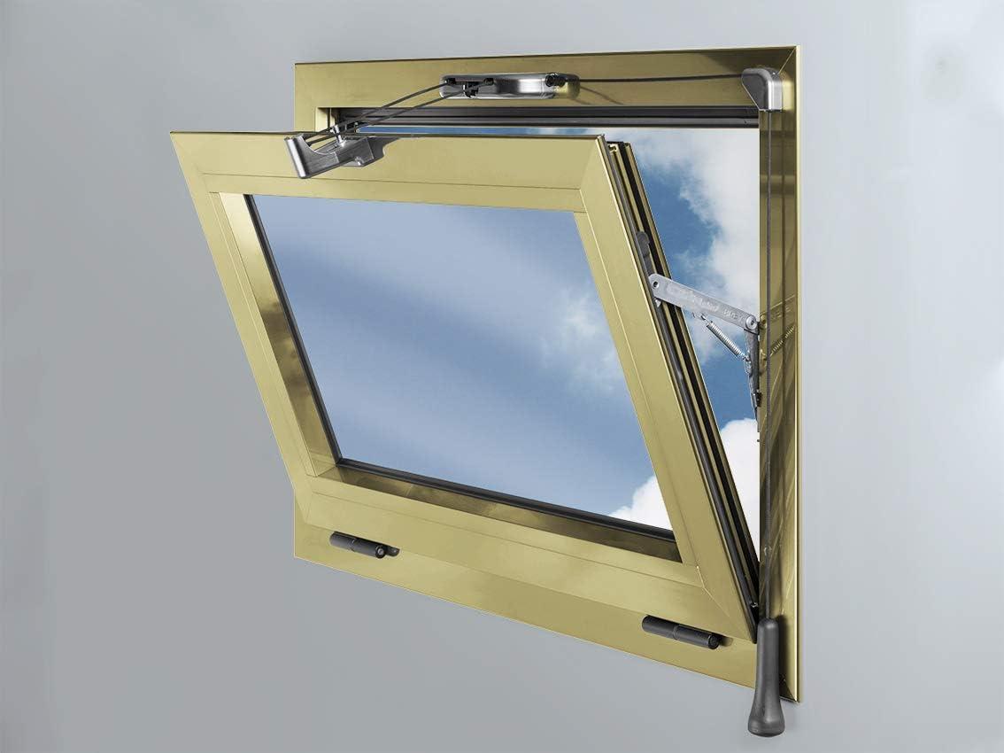Chiusura per infissi a vasistas in alluminio Esinplast Scarabeo art.099992953001