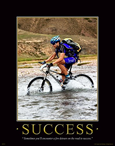 Bicycle Motivational Poster Art Print Mountain Bike Helmet Shorts Parts Wall Decor Pictures