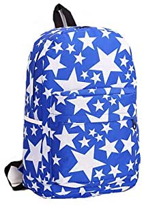 Nylon Large Fashion Outdoor Travel Rucksack Water-proof Student School Bags Star