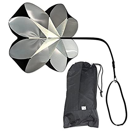 Crewell - Paraguas de Resistencia de Fútbol, Entrenamiento de Fuerza, Paraguas Físico, Fuerza