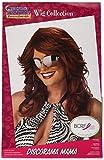 California Costumes Women's Discorama Mama Auburn Wig, Auburn, One Size