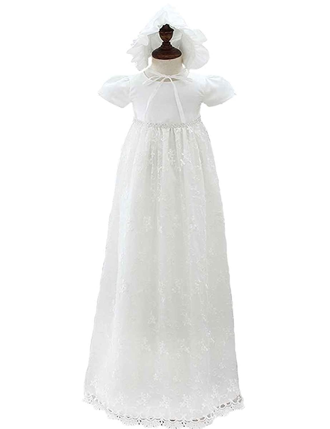 Glamulice Baby Boy Baptism Christening Gown Clothes Long Christening ...