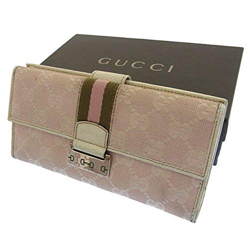 グッチ GGキャンバス 長財布(ホック式小銭入れ付き) 146206
