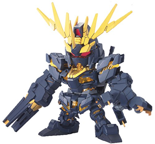 Bandai Hobby BB380 2 Banshee Super Deformed Gundam Unicorn Action Figure