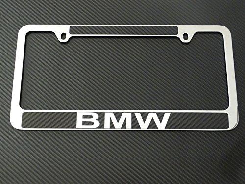 bmw-license-plate-frame-chrome-metal-carbon-fiber-details-chrome-text