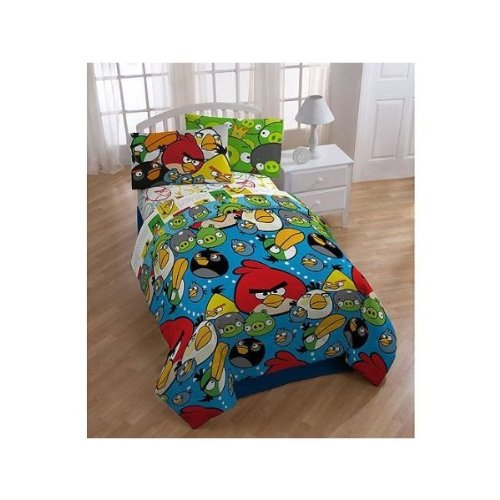 Angry Birds Twin Full Comforter