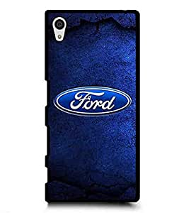 Car Logo For Sony Xperria Z5 Carcasa,Ford Logo Protective Hard Carcasa Designed By CustomItemSty