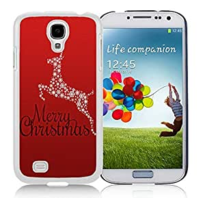 Custom Design Samsung S4 TPU Protective Skin Cover Christmas Animals White Samsung Galaxy S4 i9500 Case 3