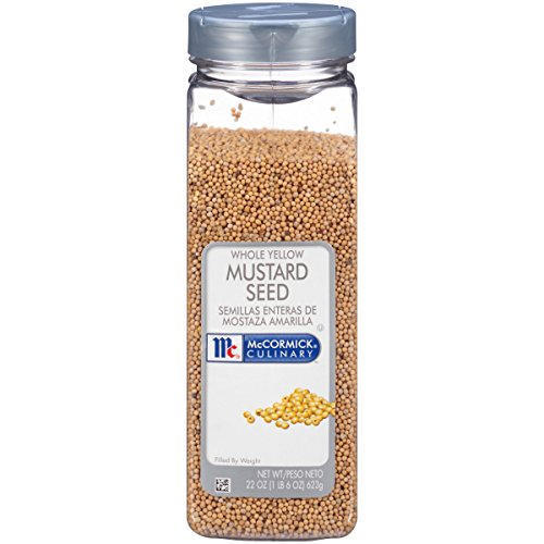 McCormick Culinary Whole Yellow Mustard Seed, 22 oz