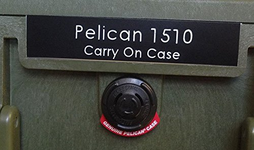 CVPKG Presents Pelican 1550 Nameplate (Pelican Case 1550 Orange)