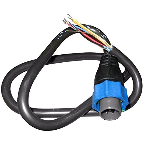 Lowrance 7 PIN BLUE SONAR CONNECTOR TO BARE - Lowrance Power Cable
