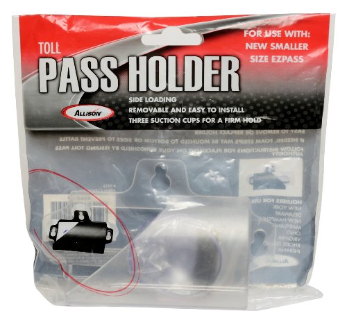 Allison 54-0106 Clear Toll Pass - Holder Pass Toll