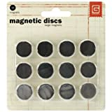Basic Grey MET522 MET522 5/8-Inch-by-1/32-Inch Magnetic Snaps Large.