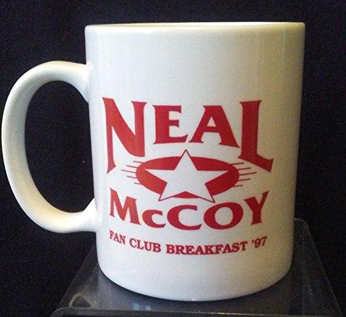 (Neal McCoy Coffee Mug, Neal McCoy Coffee Cup, Neal McCoy Fan Club Cup)