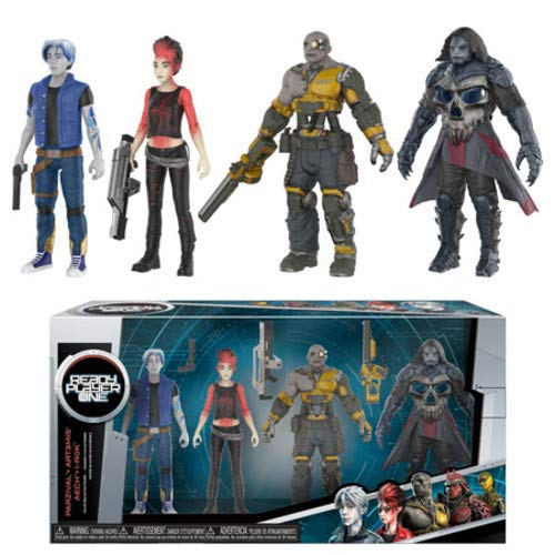 Funko Action Figure: Ready Player One - Parzival, Aech, Art3
