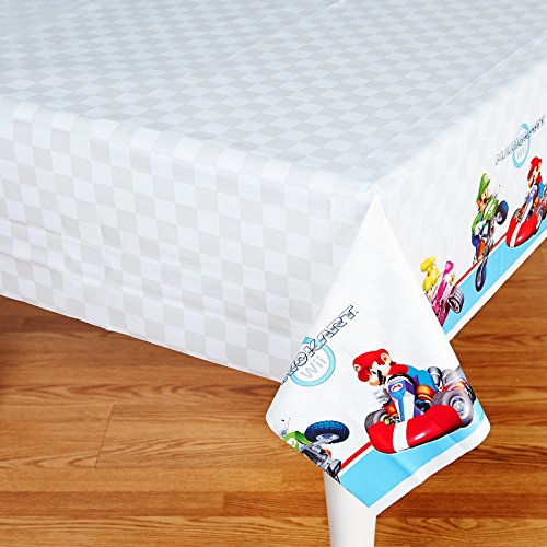 Super Mario Bros. Mario Kart Birthday Party Supplies 2 Pack tablecovers -